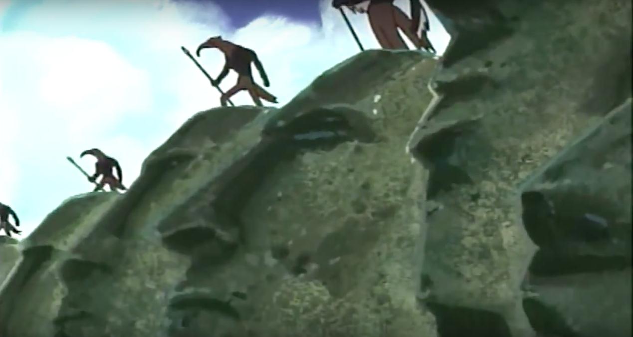 Moai Culture Popular Kampampn Filter Udara Isuzu Phanter Non Turbo A Group Of Birdmen Stand Ready To Attack Joe